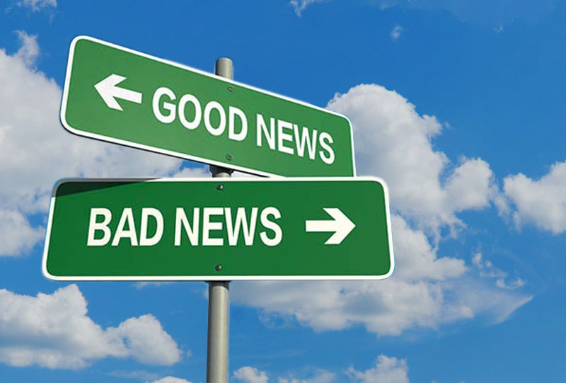 Good News Bad News Signs